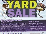 Church Yard Sale Flyer Template Church Wide Yard Sale Graysville Church Of God