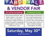 Church Yard Sale Flyer Template Moms Of Malverne