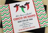 Cinco De Mayo Email Templates Cinco De Mayo Invitation Template Dancing Jalapeno