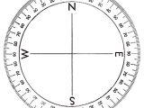 Circular Protractor Template Diagram 360 Degree Circle Diagram