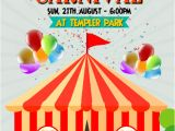 Circus Flyer Template Free Circus Carnival Flyer Template Postermywall