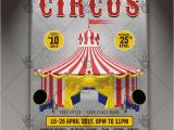 Circus Flyer Template Free Circus Party Premium Flyer Psd Template Psdmarket