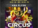 Circus Flyer Template Free Free Vintage Carnival Flyer Templates Free Fixride Com