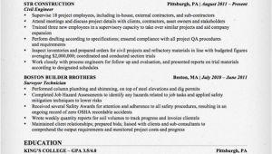 Civil Engineer Qs Resume Civil Engineering Resume Sample Resume Genius