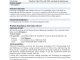 Civil Engineer Resume Achievements Civil Engineer