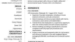 Civil Engineer Resume Civil Engineering Resume Example Writing Guide Resume