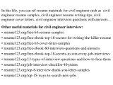Civil Engineer Resume Headline top 8 Civil Engineer Resume Samples