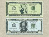 Classroom Bucks Template Classroom Bucks Play Money Instant Download Pdf File
