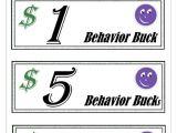 Classroom Bucks Template Good Behavior Bucks Template Related Keywords Good