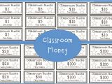 Classroom Bucks Template the 4th Grade Journey Two for Tuesday 50 Off Sale
