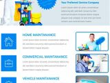 Cleaning Company Flyer Template Download Free Cleaning Service Flyer Psd Template for