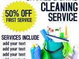 Cleaning Company Flyers Template Cleaning Service Template Postermywall