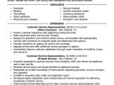 Client Servicing Resume Sample Customer Service Representative Resume Examples Free to