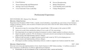 Client Servicing Resume Sample Riddle Terri Resume Client Services
