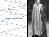 Cloak Template Pattern Gored Cloak by Eqos On Deviantart