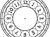 Clock Face Templates for Printing Free and Printable Clock Faces Templates Activity Shelter