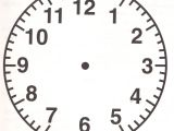 Clock Face Templates for Printing Free Clock Faces Template Printable Shelter