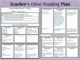 Close Reading Planning Template Planning Close Reading Minds In Bloom