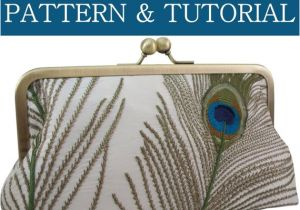 Clutch Purse Templates Clutch Purse Pattern Pdf Tutorial 6 Templates 48 9 10×3