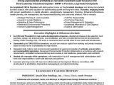 Co Founder Resume Sample Construction Company President Resume Krida Info