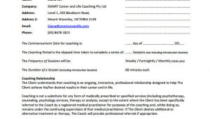 Coaching Contracts Templates 14 Coaching Contract Sample Templates Docs Word Pages