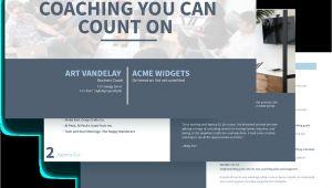 Coaching Proposal Templates Executive Coaching Proposal Template Free Sample