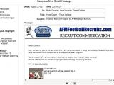 College soccer Coach Email Template Afm Football Recruits Email Template
