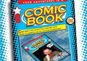 Comic Book Page Template Psd 50 Indesign Psd Magazine Cover Layout Templates Web