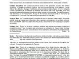 Commercial Building Contract Template Sample Construction Agreement forms 10 Free Documents