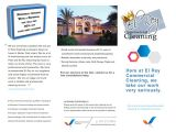 Commercial Cleaning Brochure Templates 18 Cleanign Brochure Eps Psd format Download