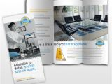 Commercial Cleaning Brochure Templates Commercial Office Cleaning Janitorial Services Tri Fold
