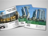 Commercial Real Estate Brochure Template Commercial Real Estate Bi Fold Brochure Template