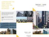 Commercial Real Estate Brochure Template Free Tri Fold Brochure Templates Examples 15 Free