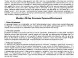 Commission Based Contract Template Sales Commission Agreement Template