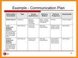 Comms Plan Template 8 Internal Communications Plan Template Emt Resume