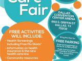Community Health Fair Flyer Template Care Fair Flyer Dallas English Jpg 1700 2200 Health