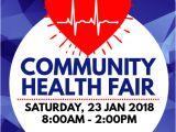 Community Health Fair Flyer Template Health Fair Flyer Template Postermywall