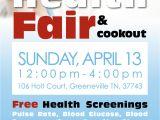 Community Health Fair Flyer Template Shc to Host Community Health Fair