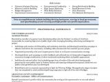 Community Relations Resume Sample Community Relations Manager Page1 Non Profit Resume