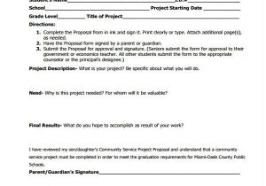 Community Service Project Proposal Template 10 Community Proposal Templates Free Sample Example