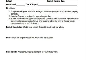 Community Service Project Proposal Template 11 Service Proposal form Samples Free Sample Example