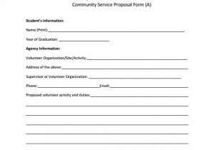 Community Service Project Proposal Template 16 Service Proposal Samples Sample Templates