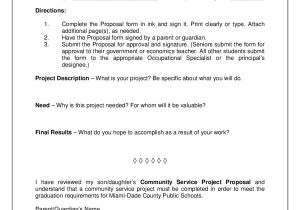 Community Service Project Proposal Template 2018 Project Proposal Template Fillable Printable Pdf