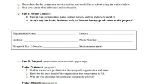 Community Service Proposal Template Service Proposal Template 14 Free Word Pdf Document