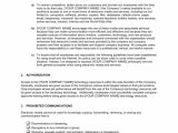 Company Email Policy Template Computer Use Policy Template Word Pdf by Business In