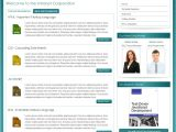 Company Intranet Template Jm Intranet Corporation Joomla 2 5 Template by