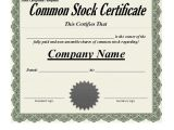 Company Stock Certificate Template 40 Free Stock Certificate Templates Word Pdf