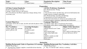 Components Of A Lesson Plan Template 12 Best Images Of Components Of A Lesson Plan Siop