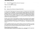 Compressed Work Week Proposal Template Memorandum On Compressed Work Week Employee Survey Icma org