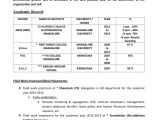 Computer Hardware and Networking Fresher Resume format Hardware Networking Resume format for Fresher Sanjran